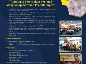 flyer seminar bisnis peternakan
